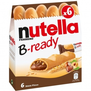 NUTELLA B-ready 6szt. 132g.